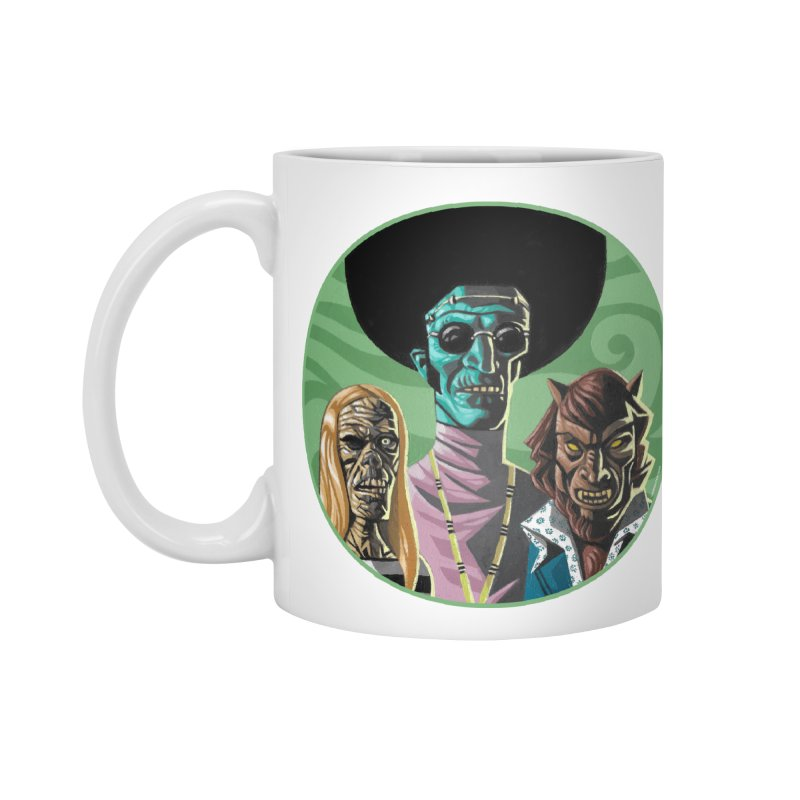 Mod Monster Squad Accessories Mug by Illustrationsville!