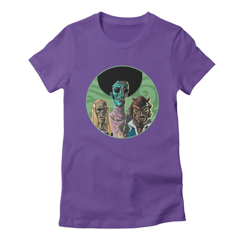 Mod Monster Squad Women's T-Shirt by Illustrationsville!