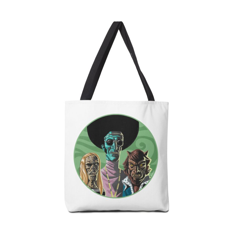 Mod Monster Squad Accessories Bag by Illustrationsville!