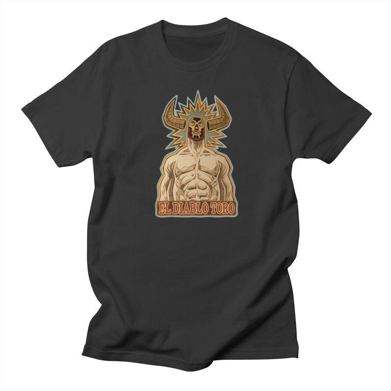 El Diablo Toro (The Devil Bull) Women's Unisex T-Shirt by Illustrationsville!