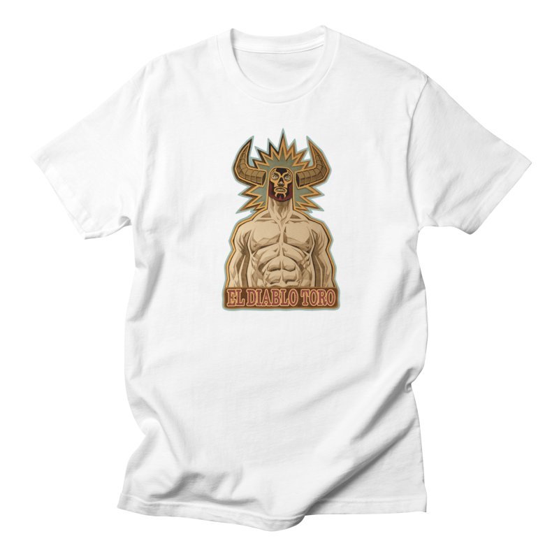El Diablo Toro (The Devil Bull) Women's Regular Unisex T-Shirt by Illustrationsville!