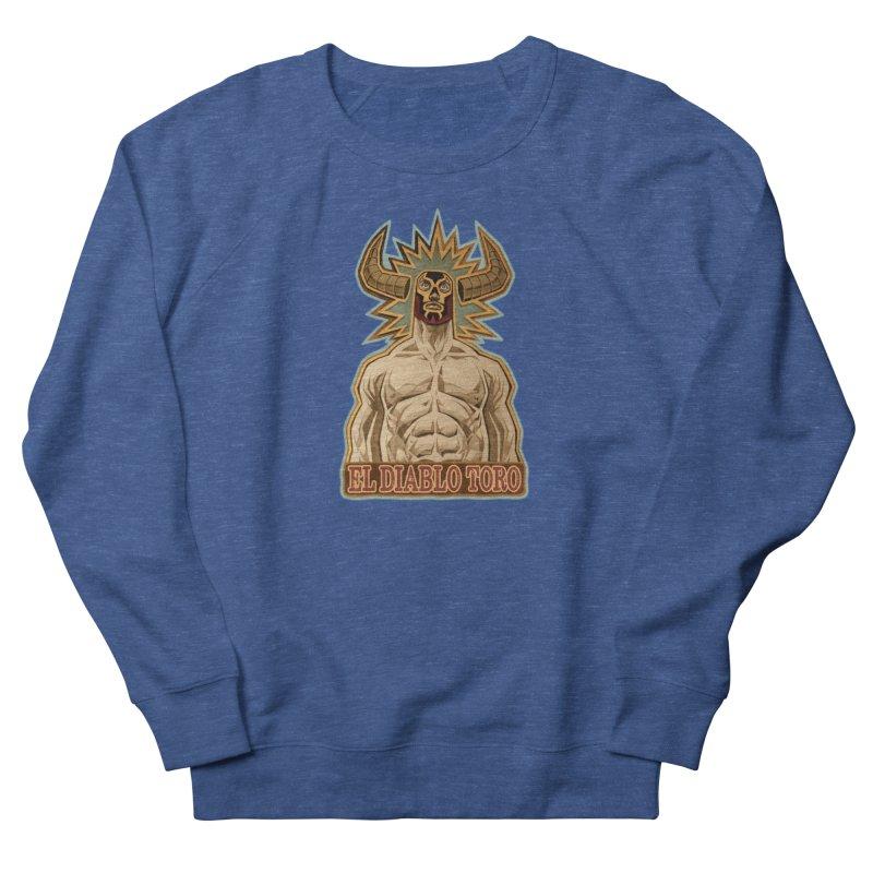 El Diablo Toro (The Devil Bull) Women's Sweatshirt by Illustrationsville!