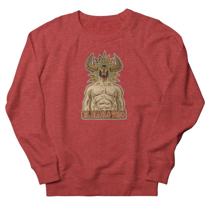 El Diablo Toro (The Devil Bull) Men's French Terry Sweatshirt by Illustrationsville!