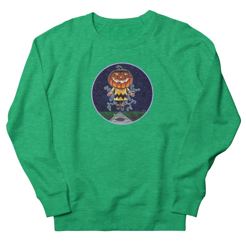 Chuck Men's French Terry Sweatshirt by Illustrationsville!