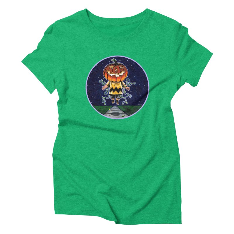 Chuck Women's Triblend T-Shirt by Illustrationsville!