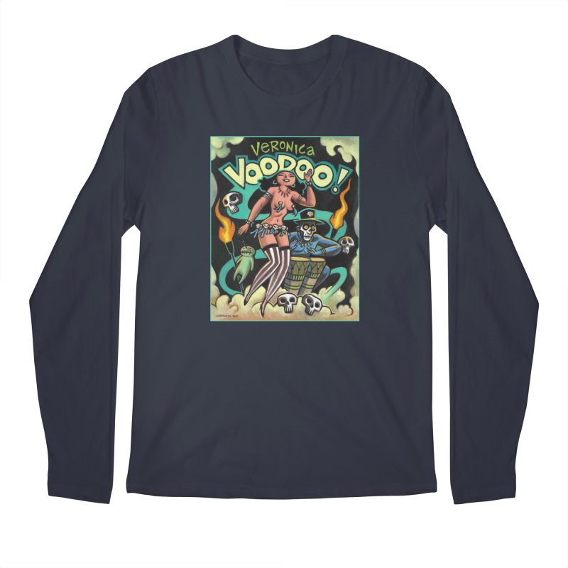 Veronica Voodoo Men's Regular Longsleeve T-Shirt by Illustrationsville!