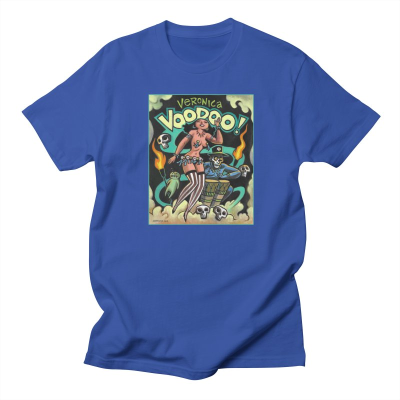 Veronica Voodoo Women's Regular Unisex T-Shirt by Illustrationsville!