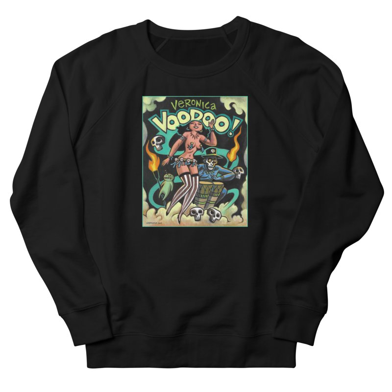 Veronica Voodoo Women's French Terry Sweatshirt by Illustrationsville!