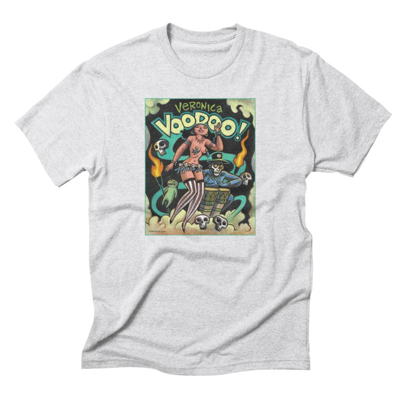 Veronica Voodoo Men's Triblend T-Shirt by Illustrationsville!