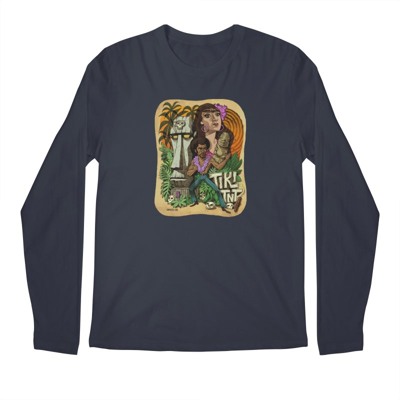 TIKI TNT Men's Regular Longsleeve T-Shirt by Illustrationsville!