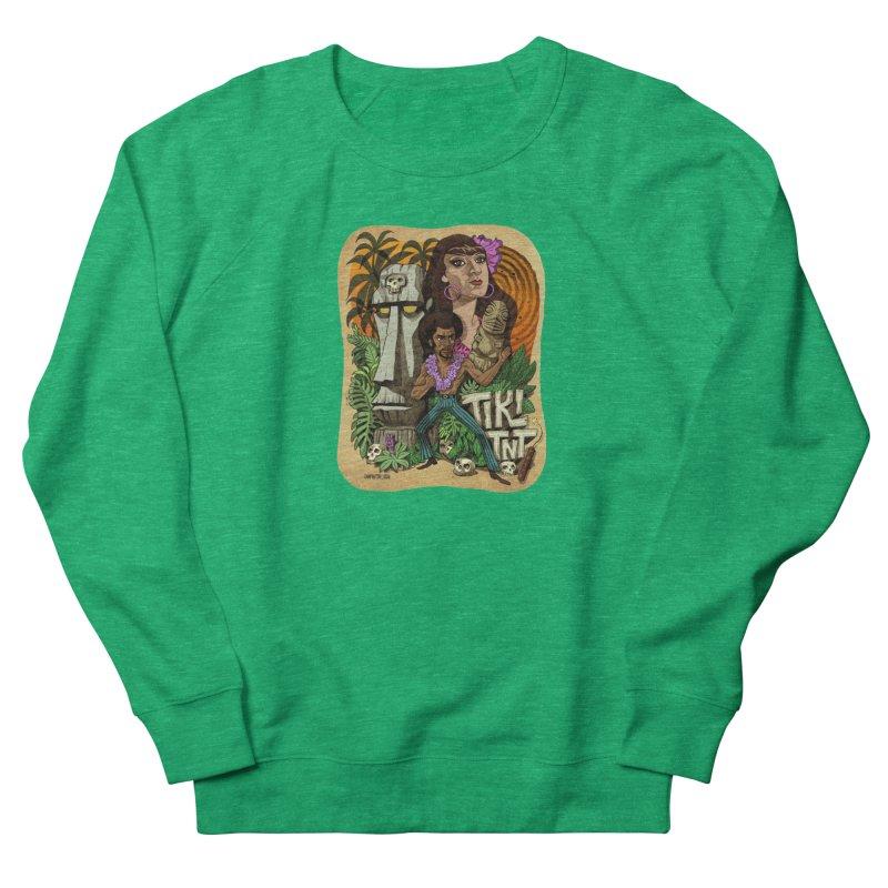 TIKI TNT Men's French Terry Sweatshirt by Illustrationsville!