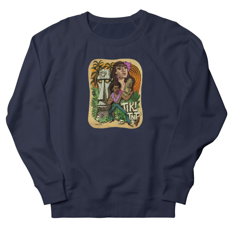TIKI TNT Men's French Terry Sweatshirt by Illustrationsville!