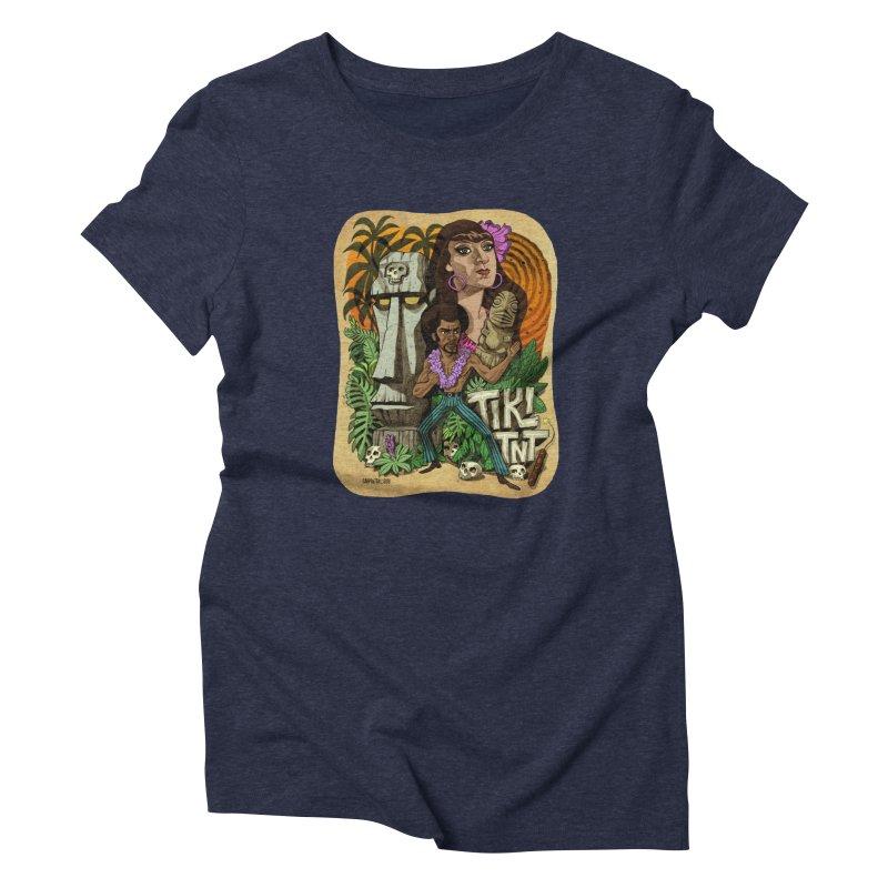 TIKI TNT Women's Triblend T-Shirt by Illustrationsville!