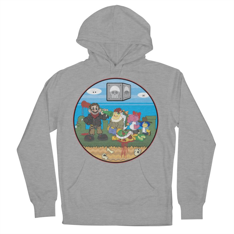 MARIO IS DEAD Women's Pullover Hoody by illustrativecelo's Artist Shop