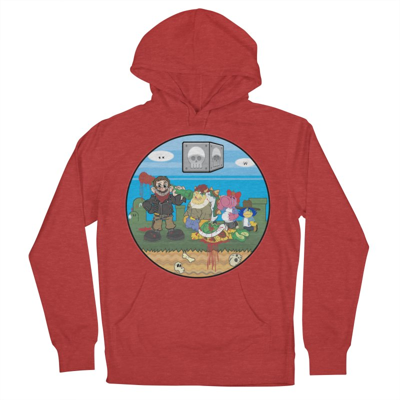 MARIO IS DEAD Men's Pullover Hoody by illustrativecelo's Artist Shop