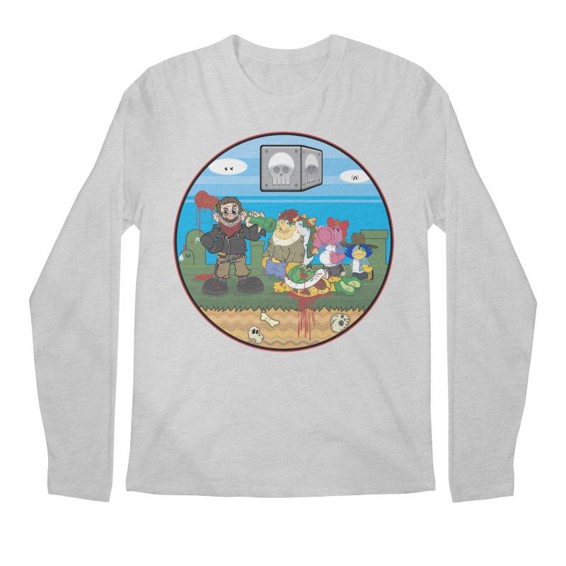 MARIO IS DEAD Men's Longsleeve T-Shirt by illustrativecelo's Artist Shop