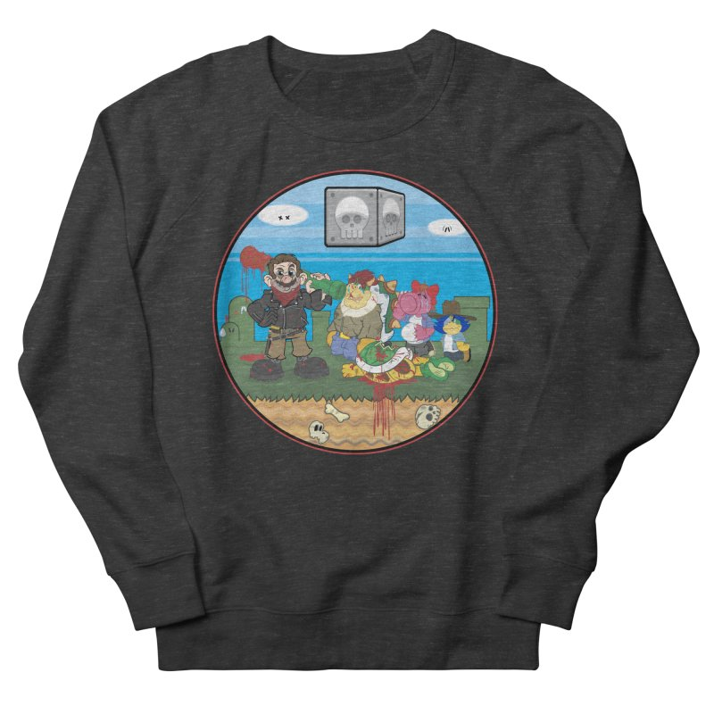 MARIO IS DEAD Women's Sweatshirt by illustrativecelo's Artist Shop