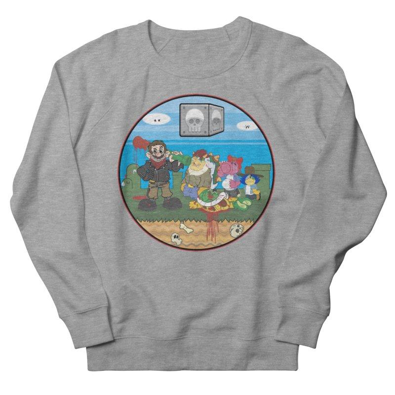 MARIO IS DEAD Women's Sweatshirt by illustrativecelo's Artist Shop