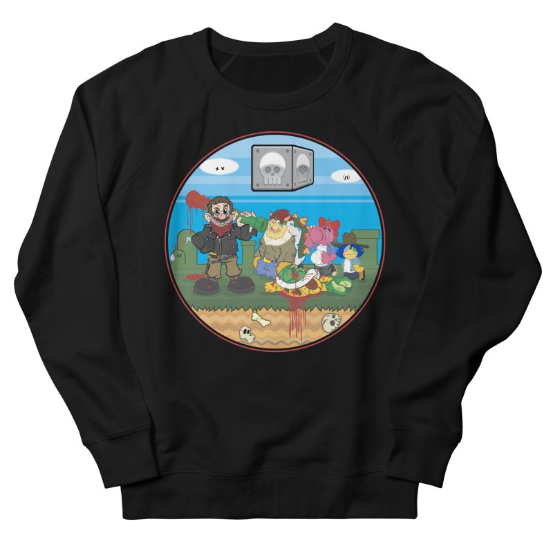 MARIO IS DEAD Men's Sweatshirt by illustrativecelo's Artist Shop