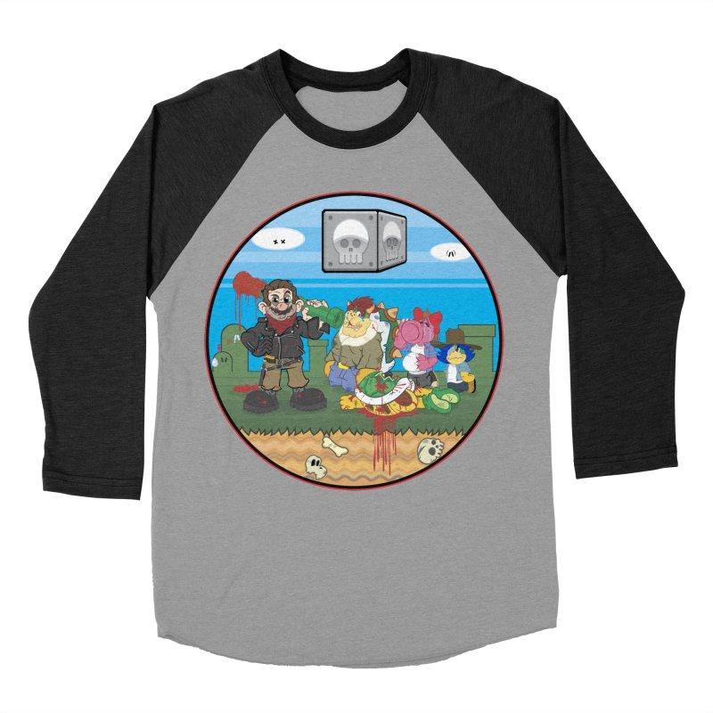 MARIO IS DEAD Women's Baseball Triblend T-Shirt by illustrativecelo's Artist Shop