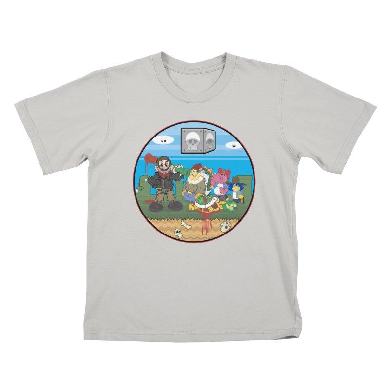 MARIO IS DEAD Kids T-shirt by illustrativecelo's Artist Shop