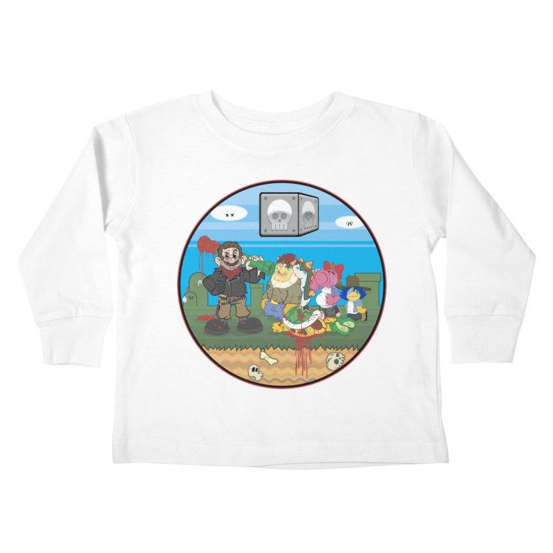 MARIO IS DEAD Kids Toddler Longsleeve T-Shirt by illustrativecelo's Artist Shop