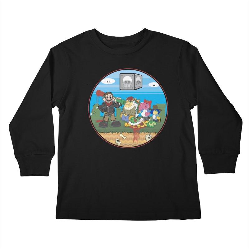 MARIO IS DEAD Kids Longsleeve T-Shirt by illustrativecelo's Artist Shop