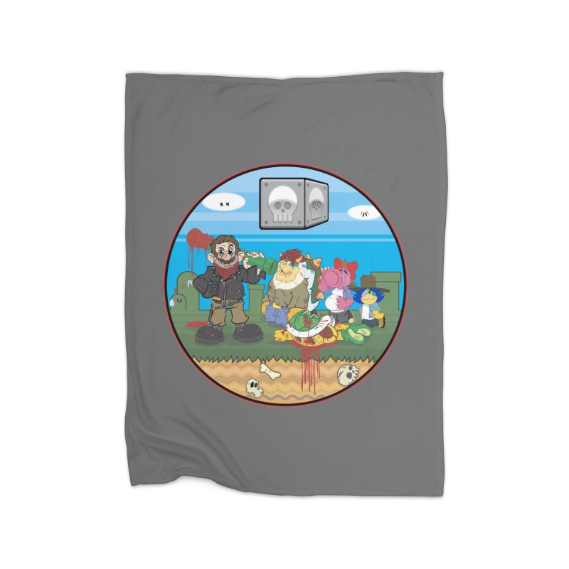 MARIO IS DEAD Home Blanket by illustrativecelo's Artist Shop