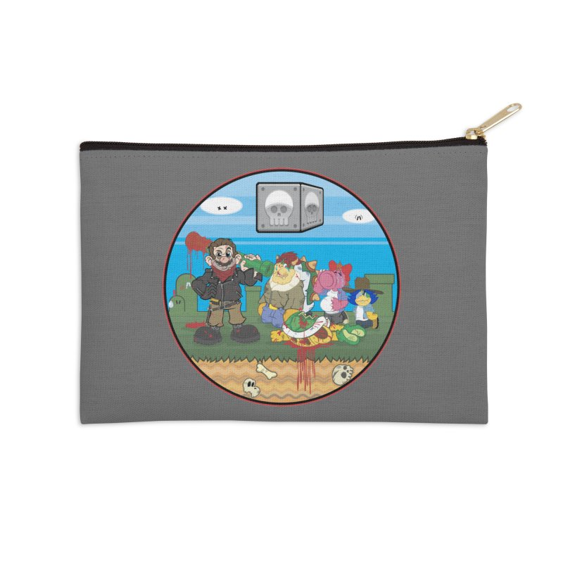 MARIO IS DEAD Accessories Zip Pouch by illustrativecelo's Artist Shop