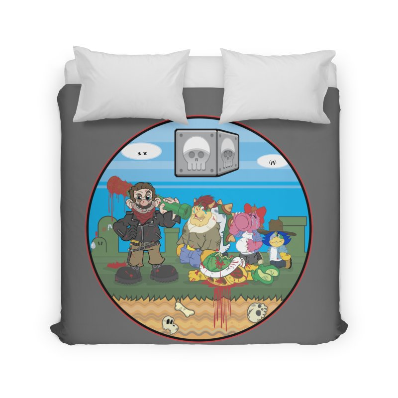MARIO IS DEAD Home Duvet by illustrativecelo's Artist Shop