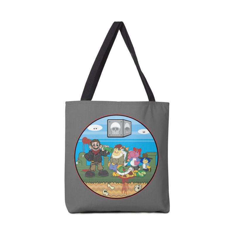 MARIO IS DEAD Accessories Bag by illustrativecelo's Artist Shop