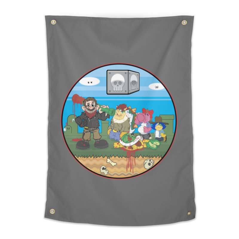 MARIO IS DEAD Home Tapestry by illustrativecelo's Artist Shop
