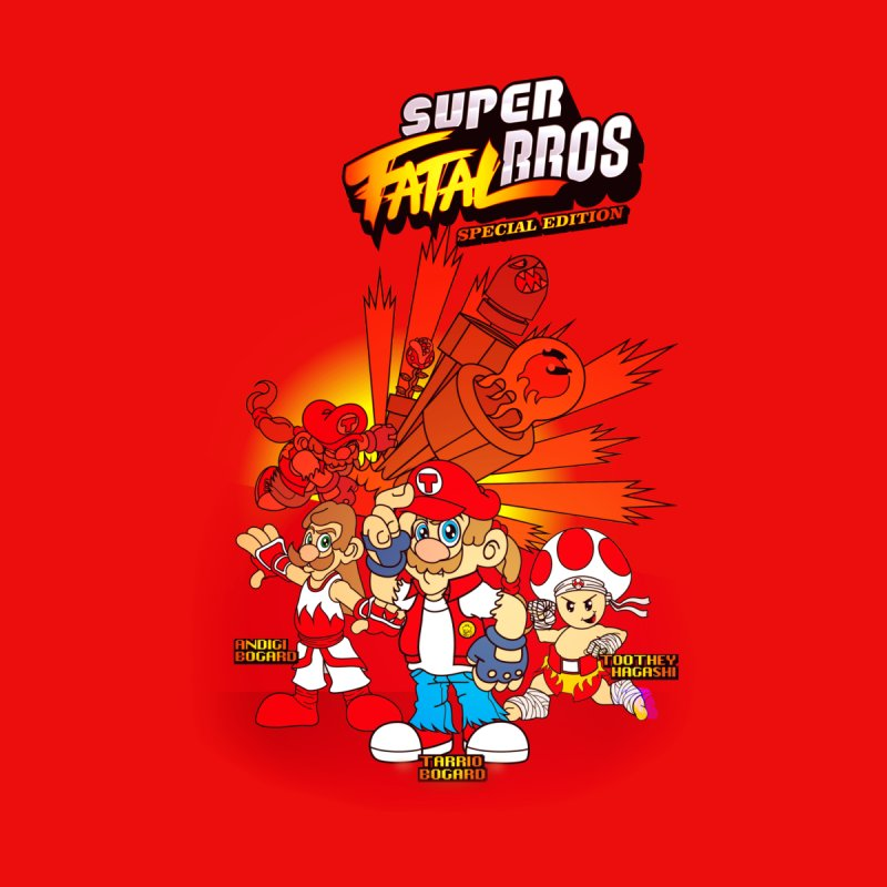 SUPER FATAL BROS None  by illustrativecelo's Artist Shop
