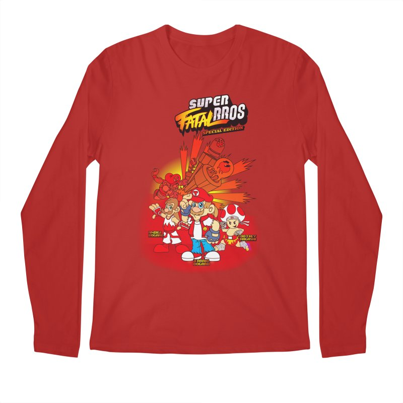SUPER FATAL BROS Men's Longsleeve T-Shirt by illustrativecelo's Artist Shop