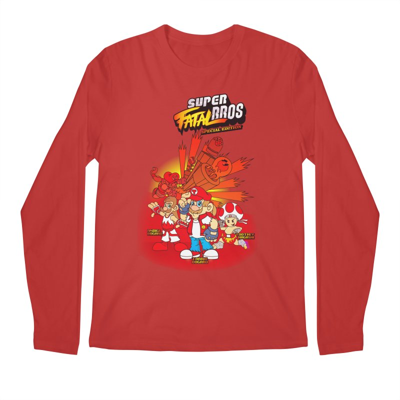 SUPER FATAL BROS Men's Longsleeve T-Shirt by illustrativecelo's Artist Shop
