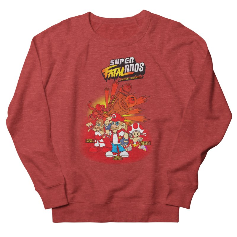 SUPER FATAL BROS Women's Sweatshirt by illustrativecelo's Artist Shop