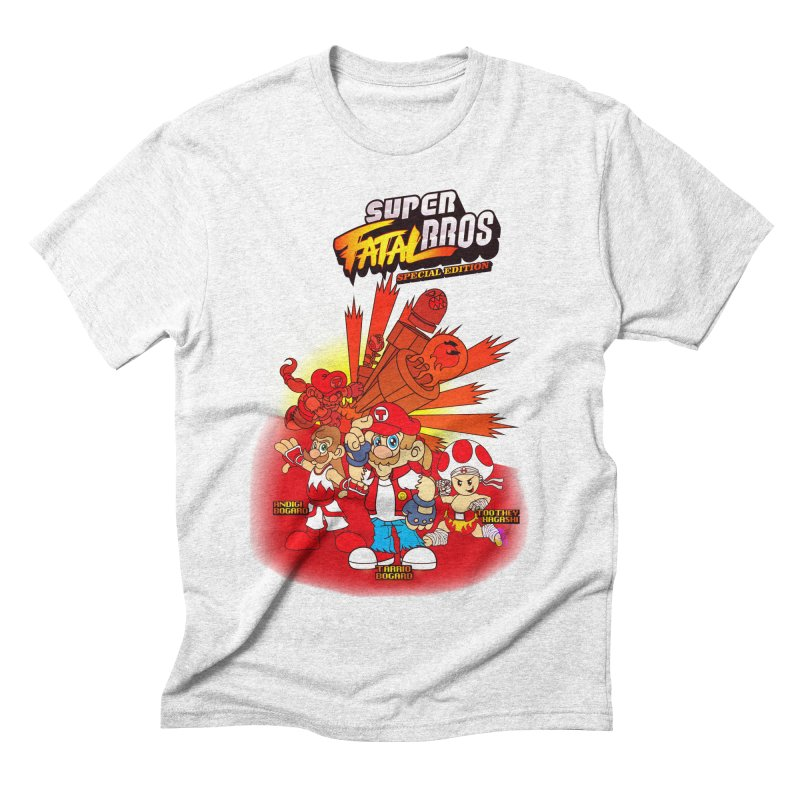 SUPER FATAL BROS Men's Triblend T-shirt by illustrativecelo's Artist Shop