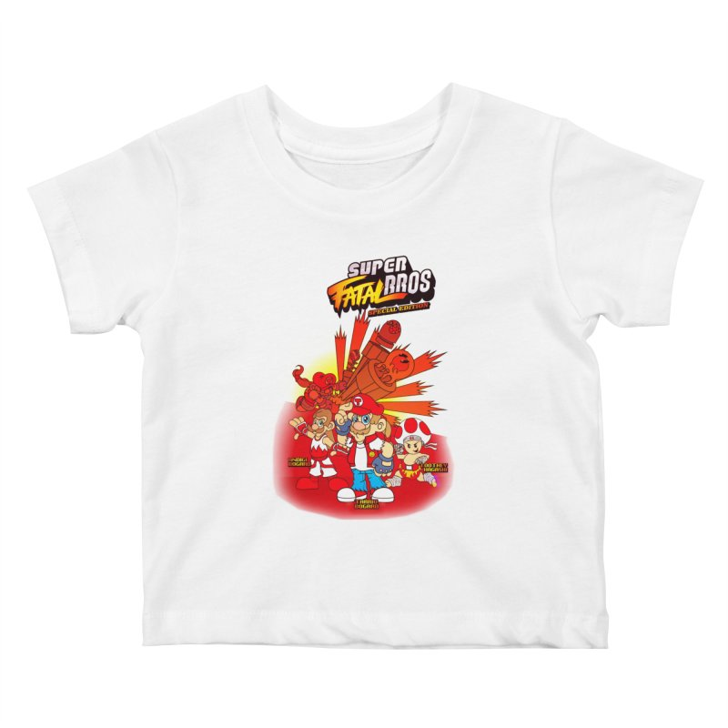 SUPER FATAL BROS Kids Baby T-Shirt by illustrativecelo's Artist Shop