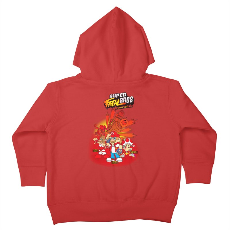 SUPER FATAL BROS Kids Toddler Zip-Up Hoody by illustrativecelo's Artist Shop