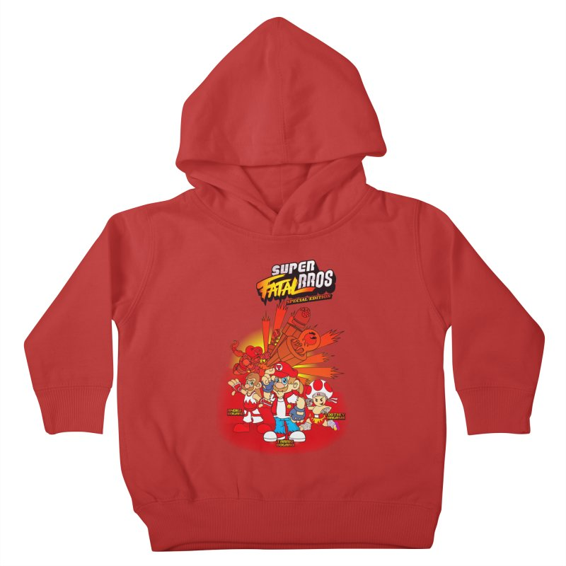 SUPER FATAL BROS Kids Toddler Pullover Hoody by illustrativecelo's Artist Shop