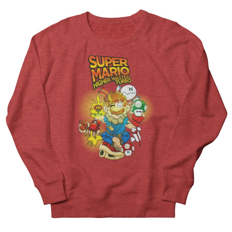 SUPER MARIO HIGHER WASTED TURBO Men's Sweatshirt by illustrativecelo's Artist Shop
