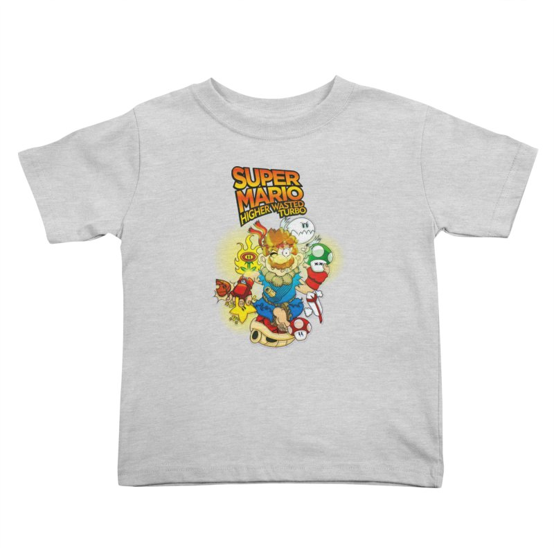 SUPER MARIO HIGHER WASTED TURBO Kids Toddler T-Shirt by illustrativecelo's Artist Shop