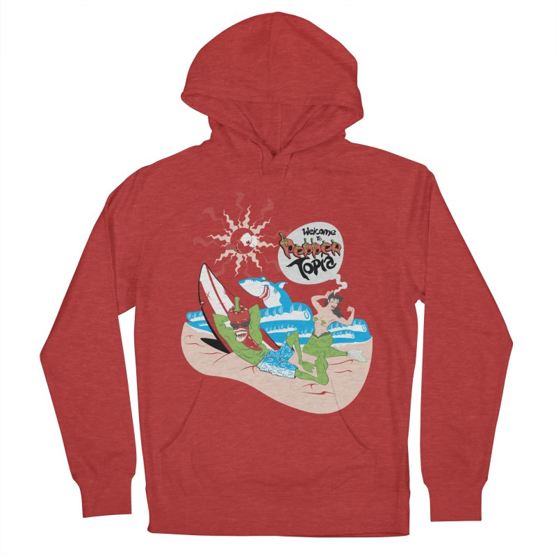 Peppertopia Women's Pullover Hoody by illustrativecelo's Artist Shop