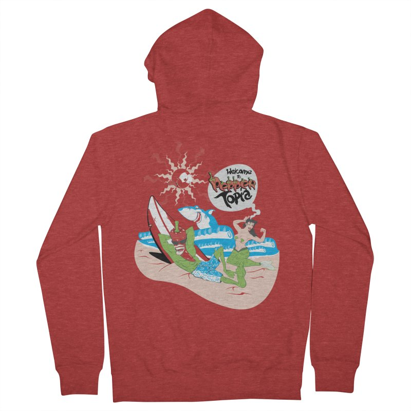 Peppertopia Women's Zip-Up Hoody by illustrativecelo's Artist Shop