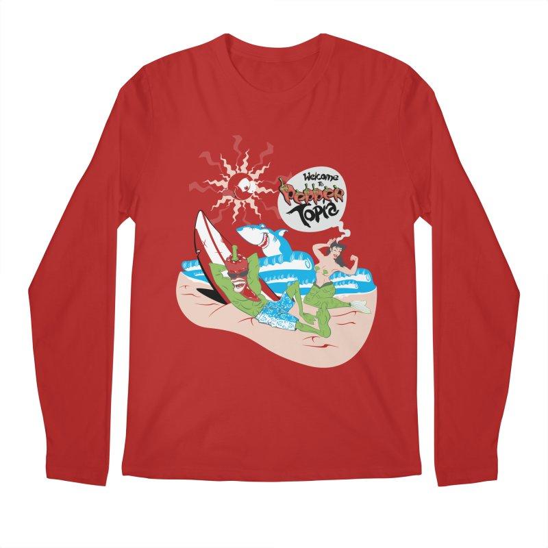 Peppertopia Men's Longsleeve T-Shirt by illustrativecelo's Artist Shop