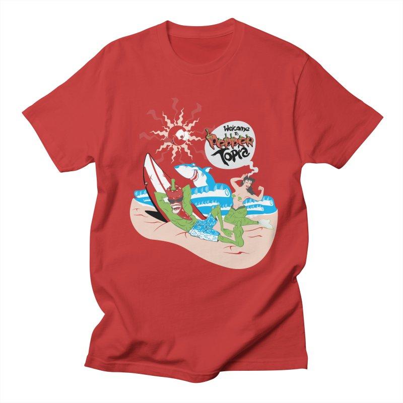 Peppertopia Men's T-Shirt by illustrativecelo's Artist Shop