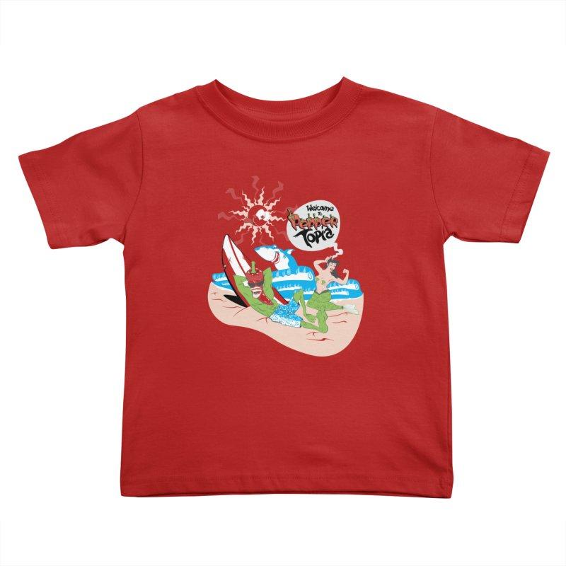 Peppertopia Kids Toddler T-Shirt by illustrativecelo's Artist Shop