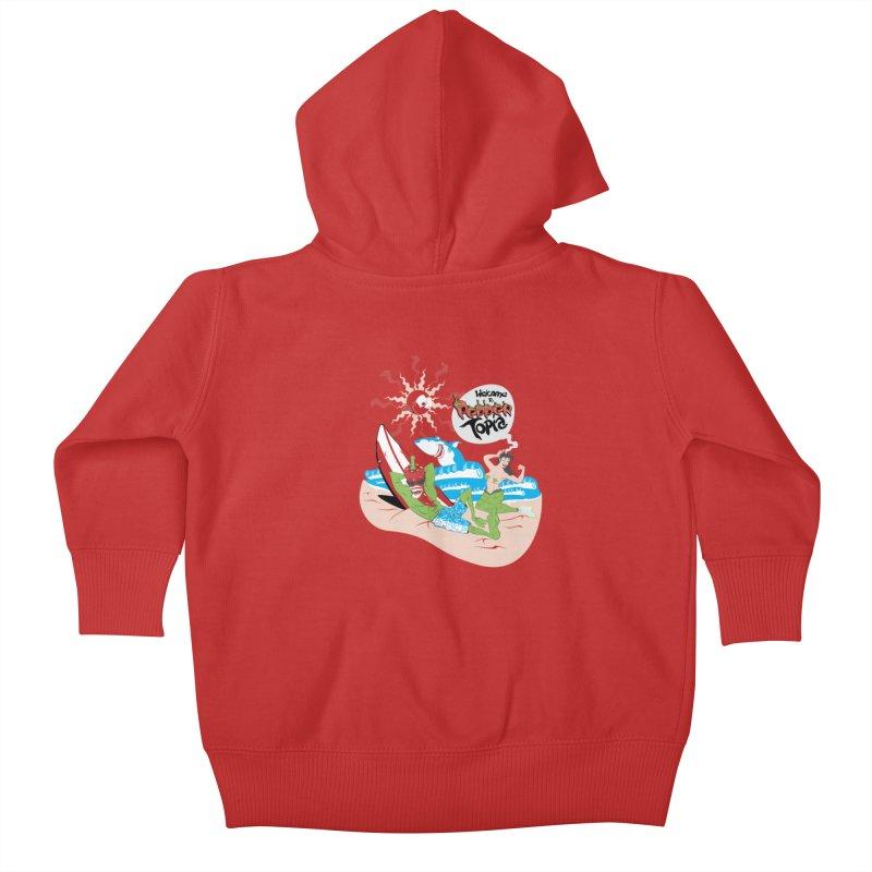 Peppertopia Kids Baby Zip-Up Hoody by illustrativecelo's Artist Shop