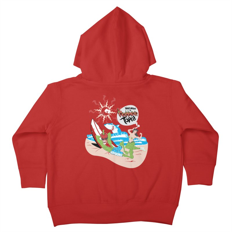 Peppertopia Kids Toddler Zip-Up Hoody by illustrativecelo's Artist Shop