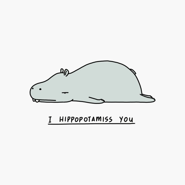 image for I Hippopotamiss You